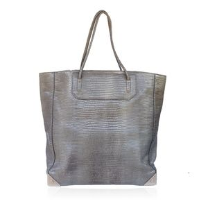 ALEXANDER WANG EMBOSSED PRISMA TOTE BAG
